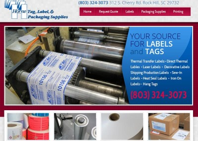 HORNE LABEL AND PRINTING